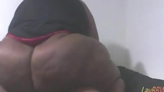 ebony SSBBW thither huge ass fucking her date