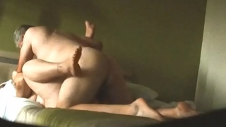 Married BBW Having Morning Sex with her Hubby