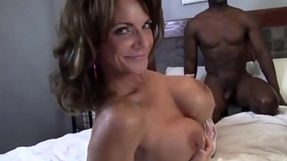 Adult Mommy Deauxma &amp_ Ashlee Chambers Share Big Black Cock!