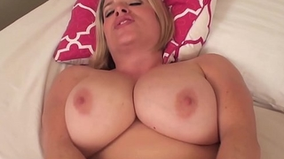 Maggie Green &amp_ Her Big Natural Tits Convince VIP For Raise!