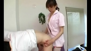 Cute japanese blooper using her strapon